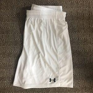 NEW Under Armor soccer shorts